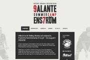 Logotyp & Hemsida - 9camp7.se