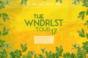 Logotyp & Hemsida - WNDRLST Tour